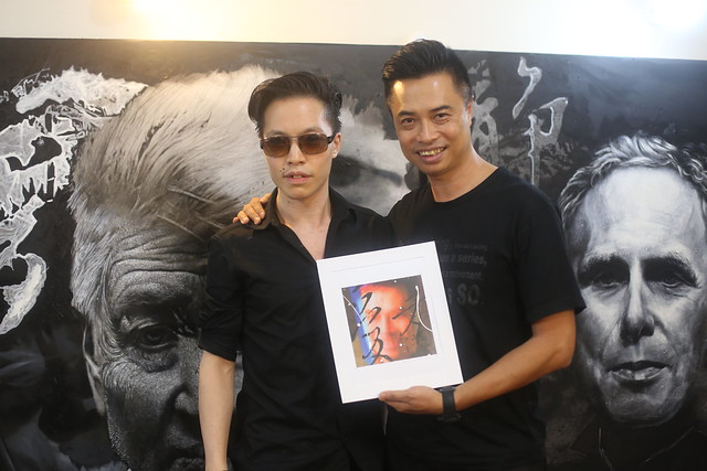 Felix So 蘇文郁 and Michael Andrew Law