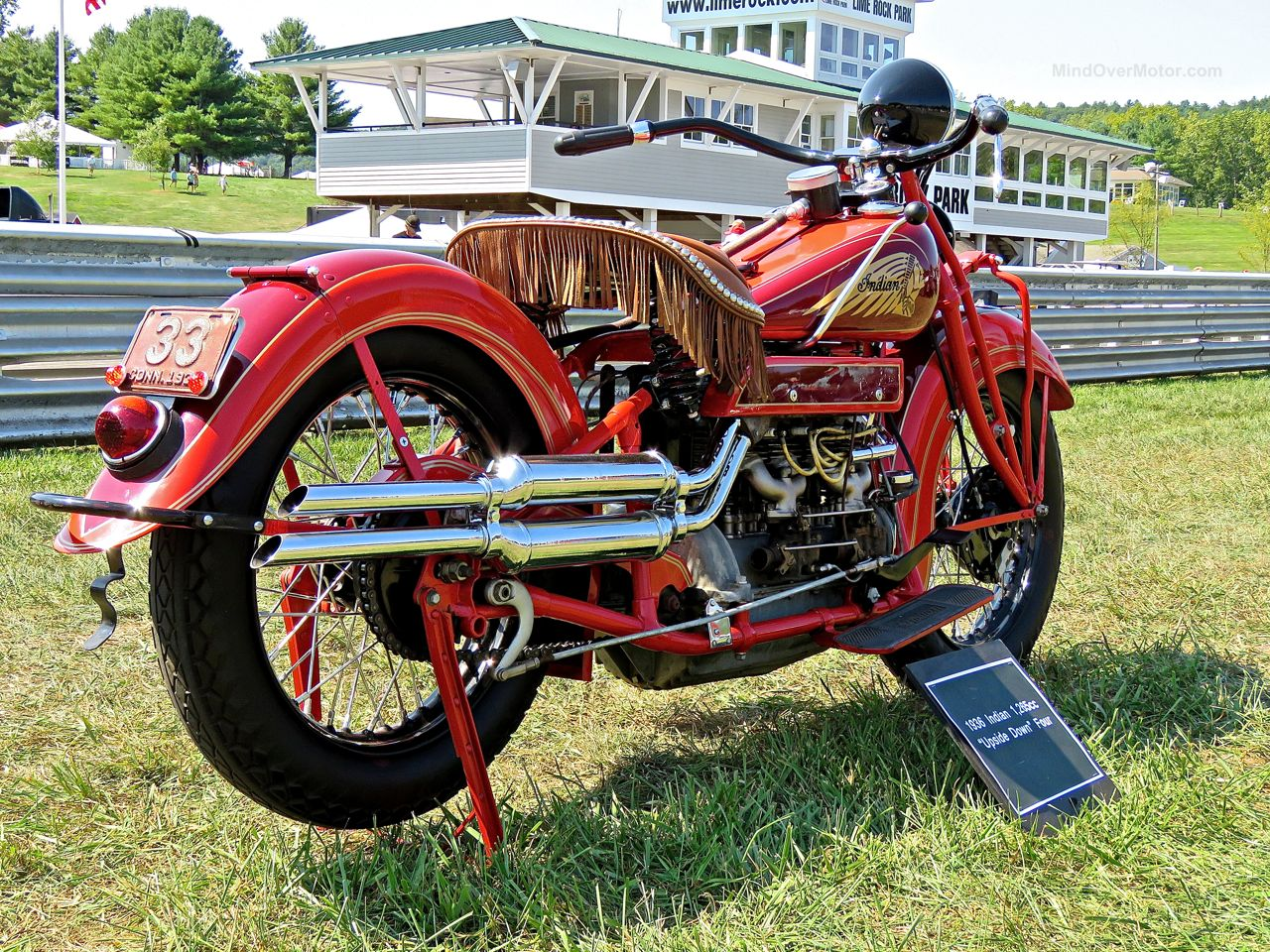 1936 Indian 1265cc Lime Rock 2