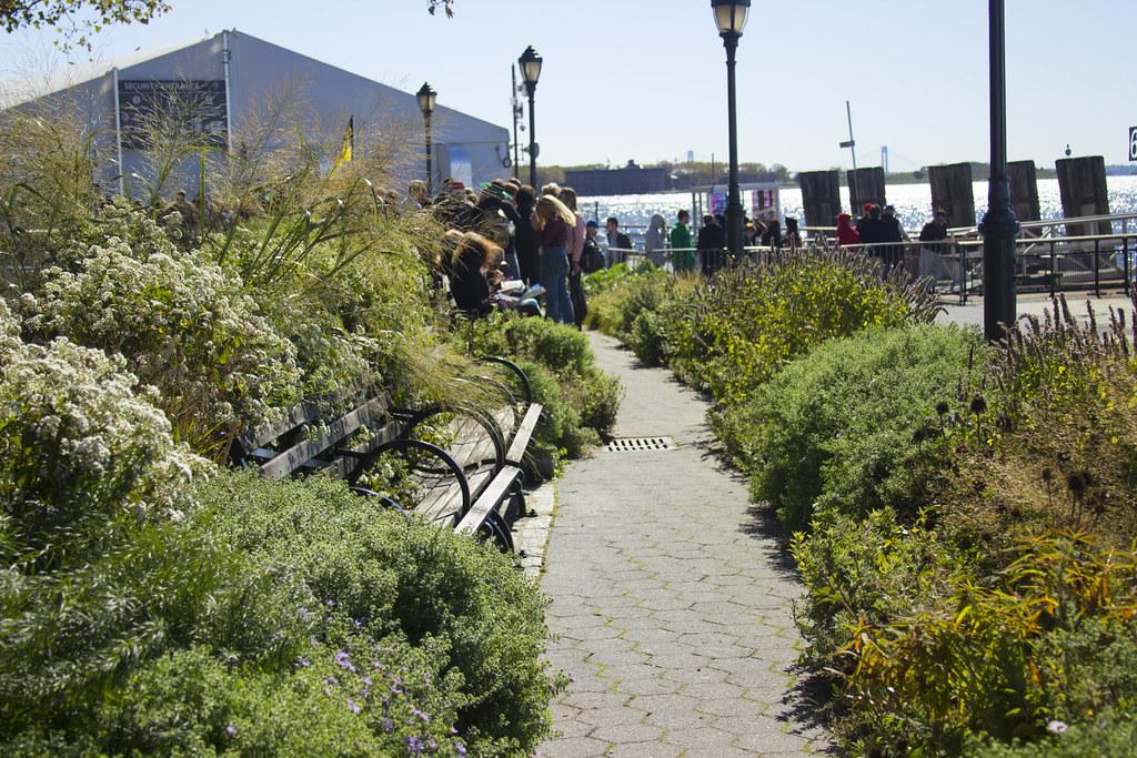 Battery Park Path