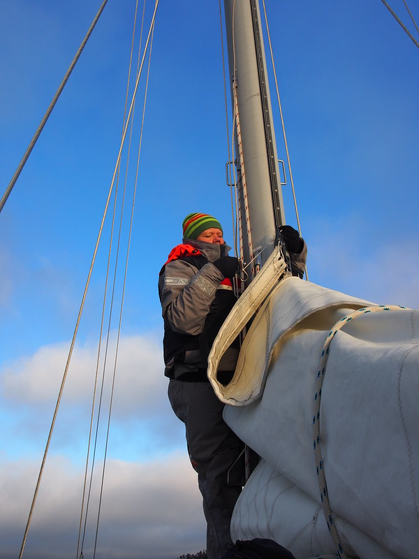 Mayday, Beginner on Board! How First-Timer Survived Winter Sailing on the Baltic Sea? | Live now – dream later travel blog
