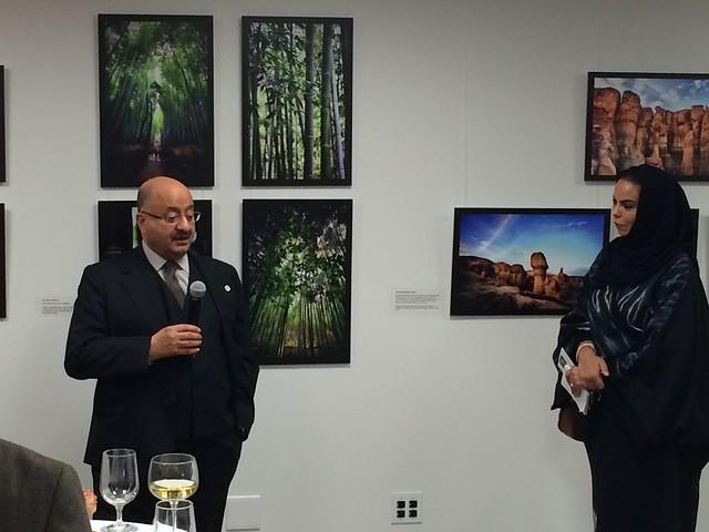 Exhibition and Reception with Saudi Photographer Najla AlKhalifa