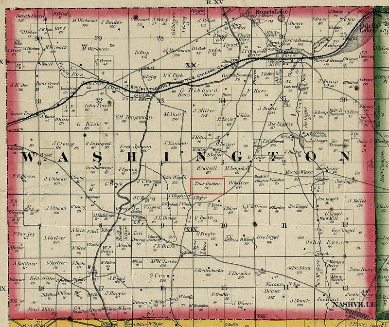 Holmes county ohio 1861