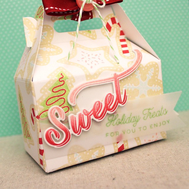 Sweet Holiday Treats Box Close Up