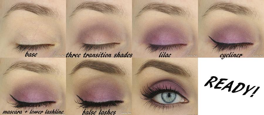 6 lilac violet eye makeup tutorial violetti lila silmämeikki syksy pikkujoulut fall makeup