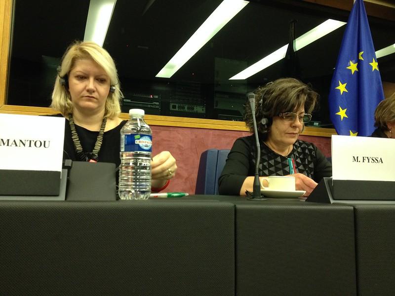 Magda Fyssa EU Parliament