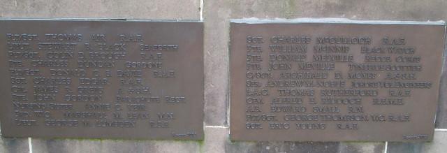 Milnathort War Memorial 4