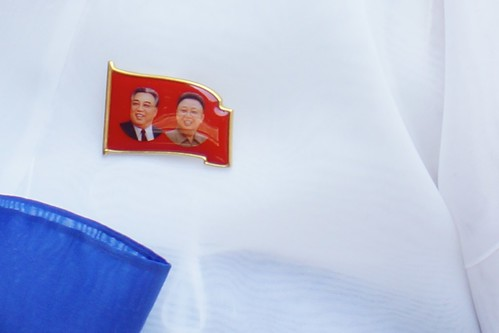 New Kim Il-sung/Kim Jong-il Badge | by Joseph A Ferris III