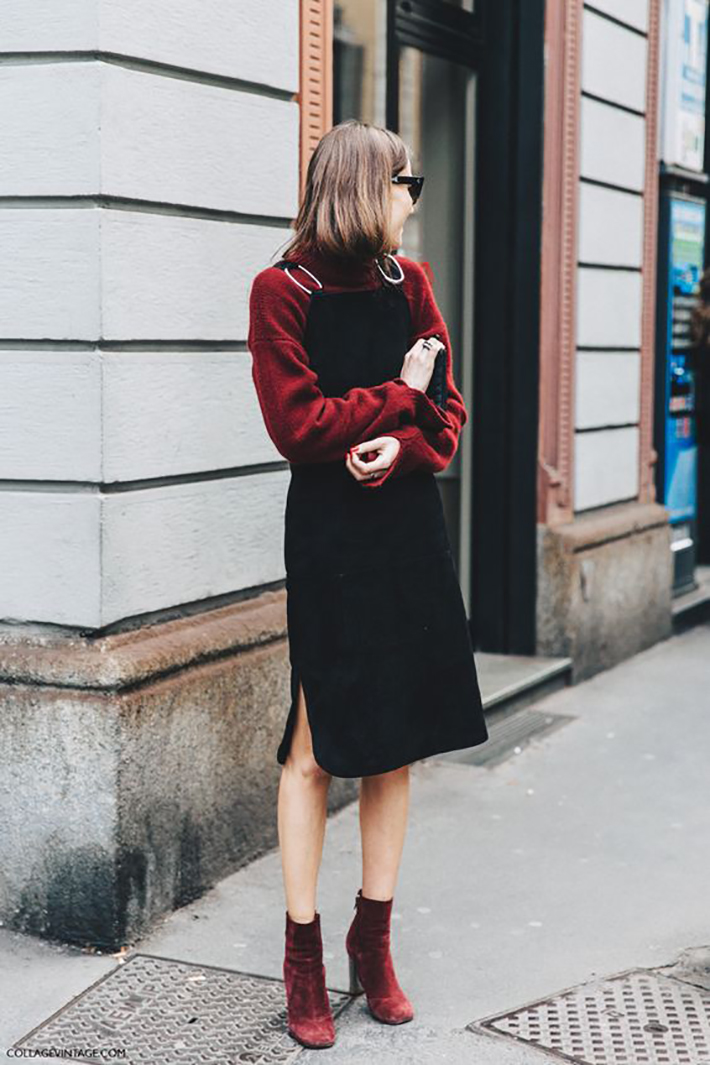 velvet streetstyle outfit accessories heels dresses8