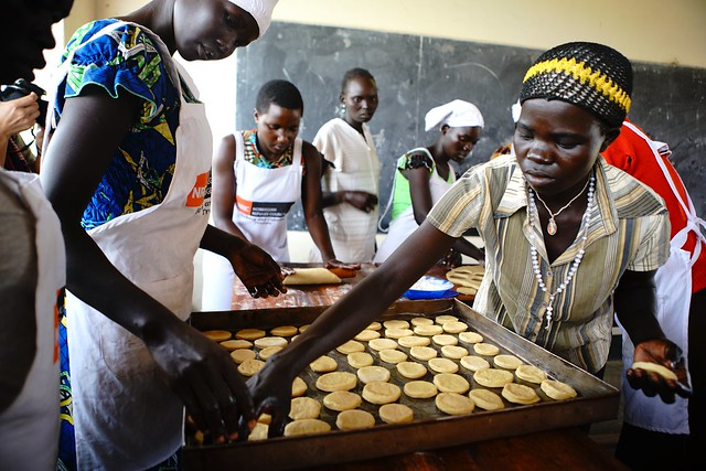 Bakery Course - Nyumanzi vocational training centre - NRC, EU Humanitarian Aid