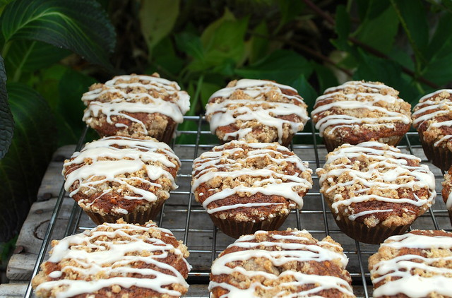 Gingerbread Muffins with Maple Glaze 1