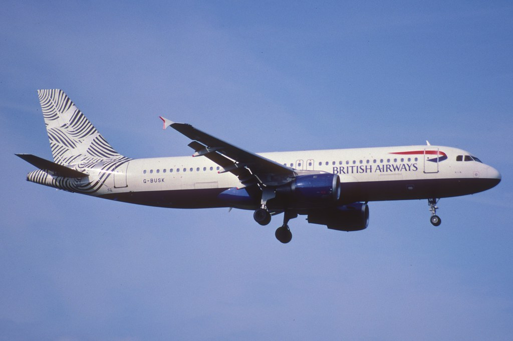 130bu - British Airways Airbus A320-211; G-BUSK@ZRH;29.04.2001