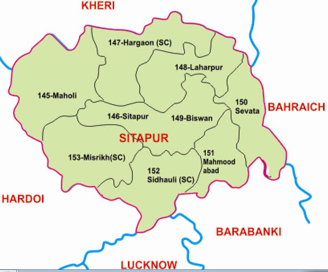 Sitapur district Uttar Pradesh Election 2017