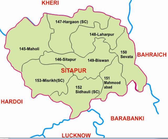 Sitapur district Uttar Pradesh Election 2017
