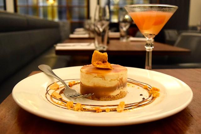 Honeycomb Cheesecake at Hawksmoor | www.rachelphipps.com @rachelphipps