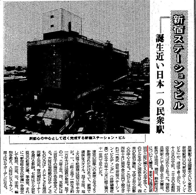 西武新宿線 国鉄新宿駅乗り入れ計画 (70)