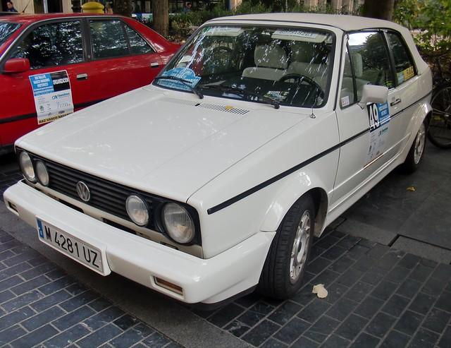 VW GOLF MKII CABRIOLET