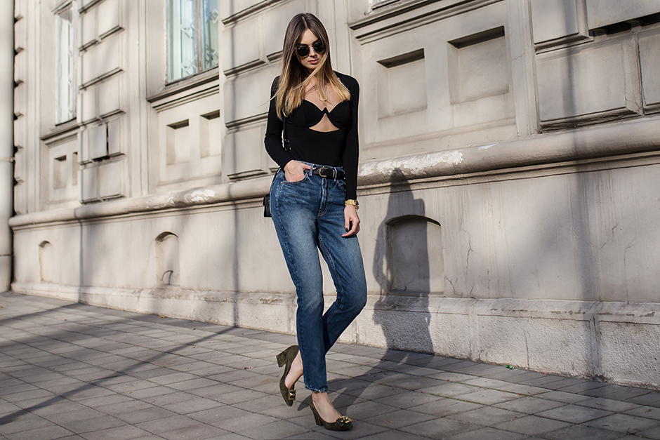 how-to-wear-cutout-top-bodysuit-outfit-street-style