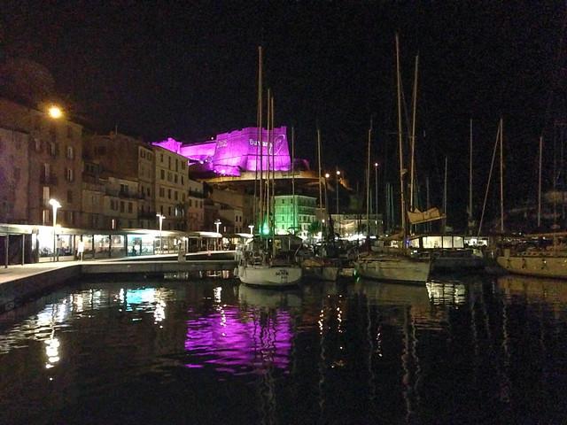 Bonifacio at night