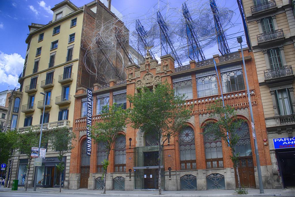 Musée de la Fundació Antoni Tàpies à Barcelone - Photo de M.Peinado.