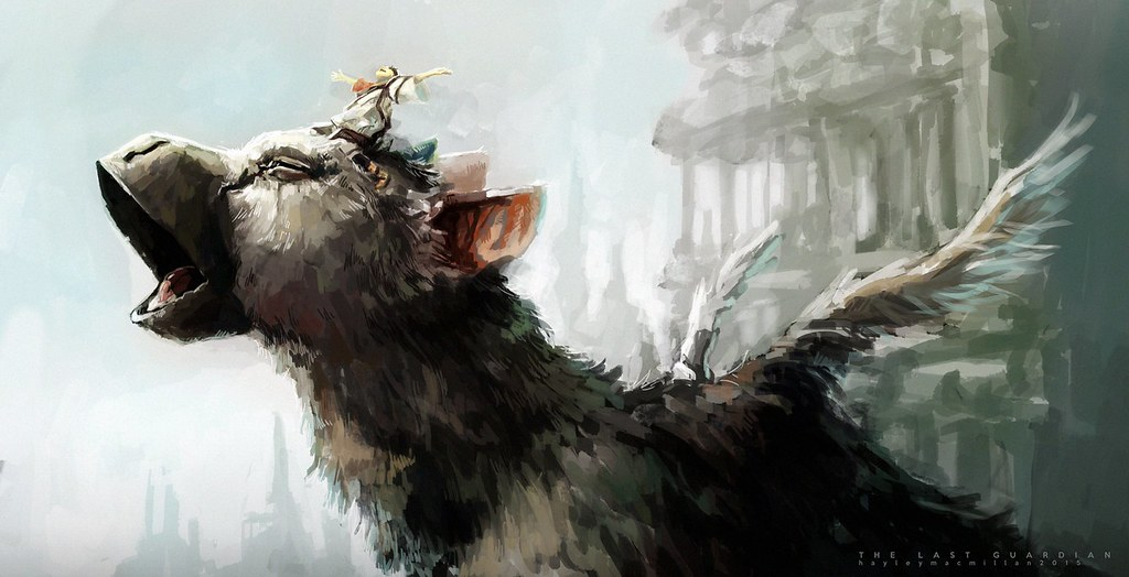 The Last Guardian fan art: Tinhan