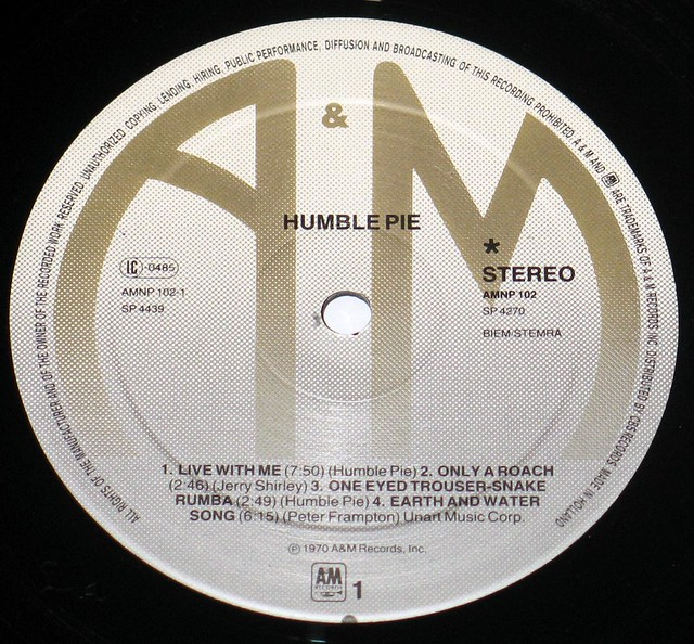 Humble Pie - Self-titled