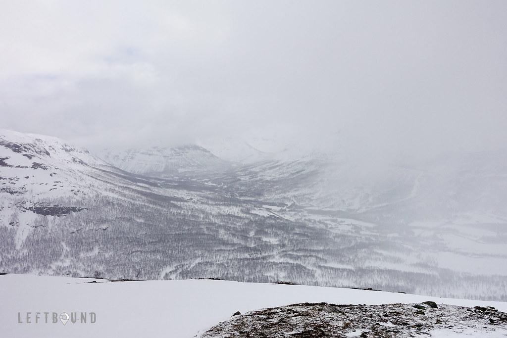 Tamok valley seen from half way up Sjufellet