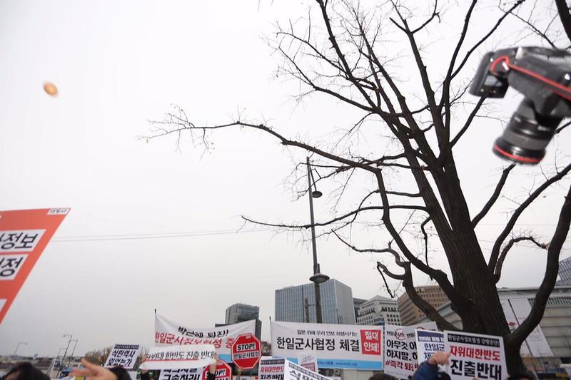 20161122_한일군사협정 국무회의의결 반대
