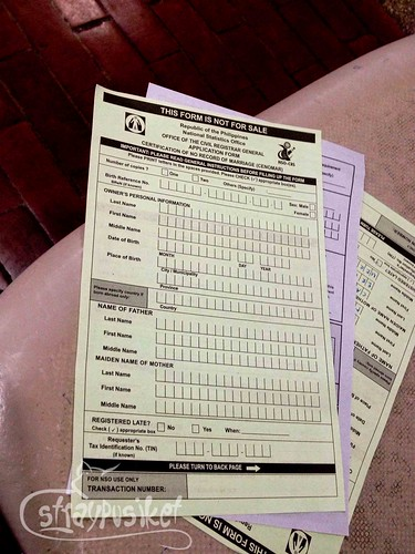 NSO Serbilis Makati | Securing a CRS Form 5 | straypusiket ...
