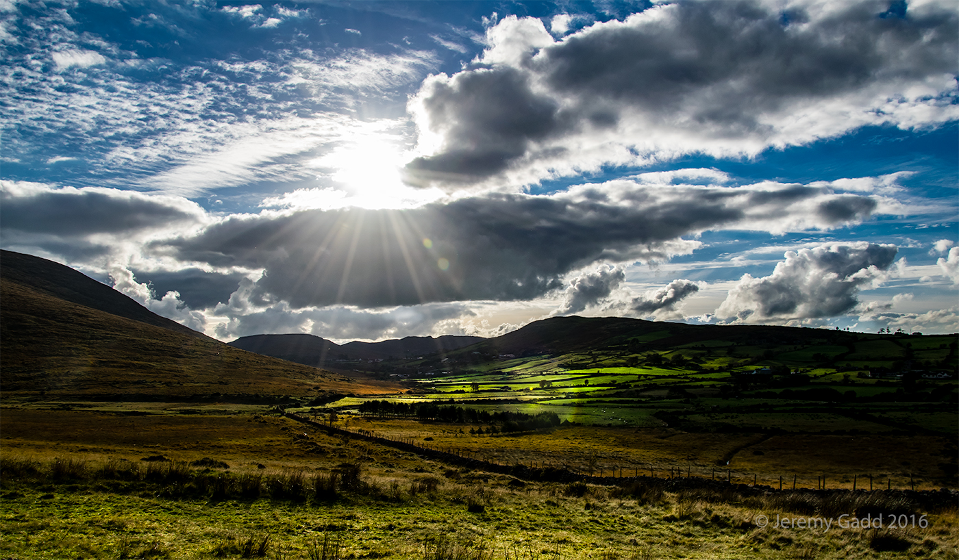 Sunshine Over Kilbroney Valley