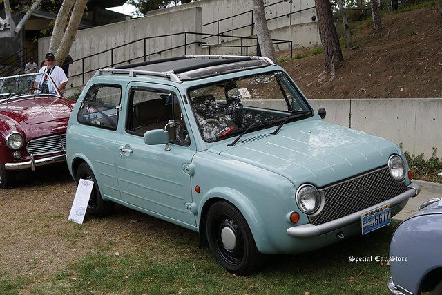 1989 Nissan Pao at Art Center Car Classic 2016
