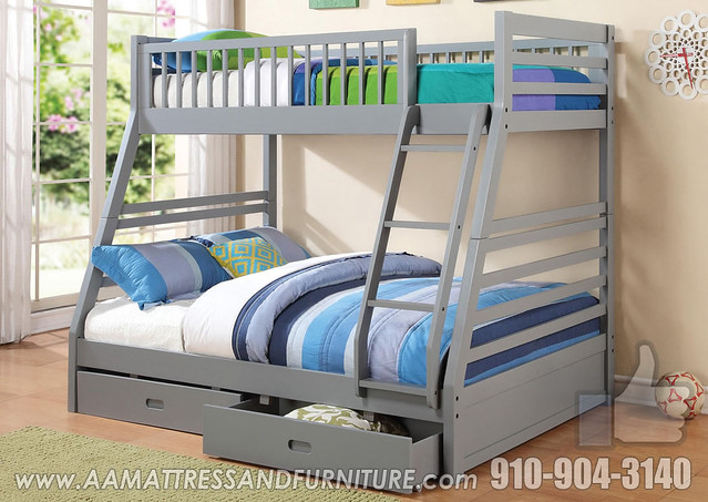 Coaster Grey Bunk FB
