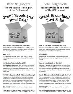 Great Brookland Yard Sale 2012 | by mediaslave