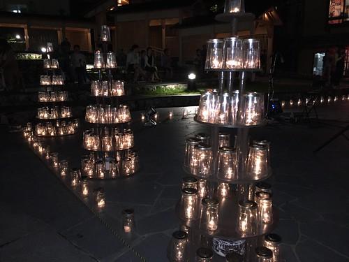 湯畑キャンドル 「夢の灯り」