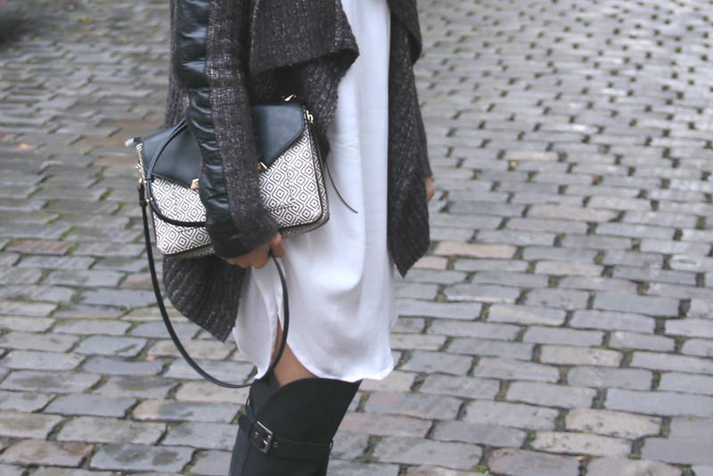 Das Sommerkleid herbstfit machen. OOTD by Style By Charlotte