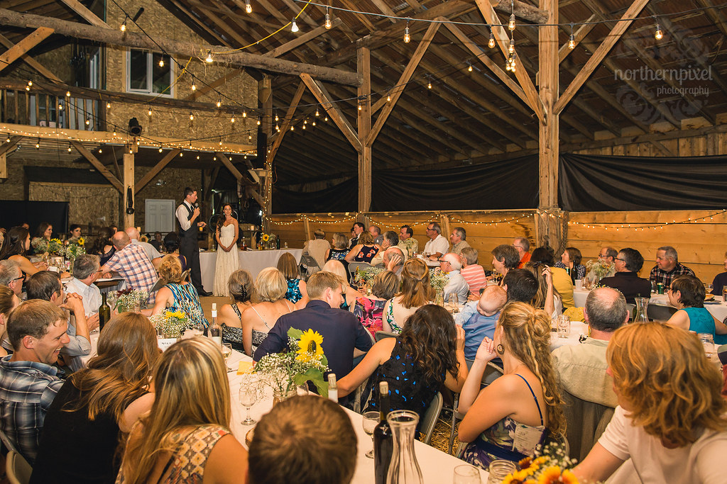 Barn Wedding Reception - Smithers BC