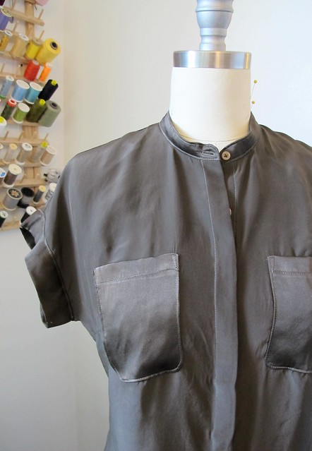 Mélilot shirt - on dressform