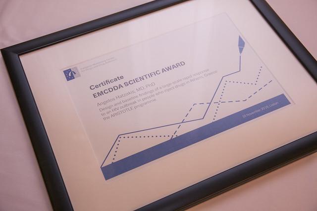 2016 EMCDDA scientific award
