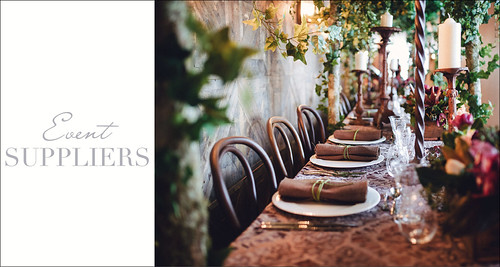 Event Suppliers.