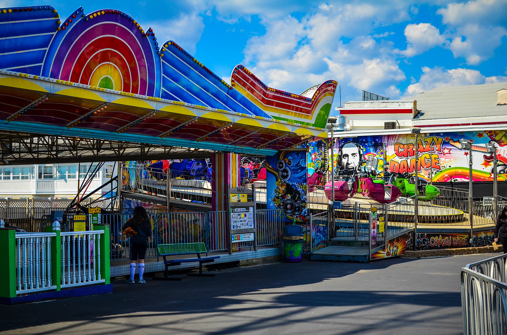 Jolly Rodger Amusement Park in Ocean City, Maryland