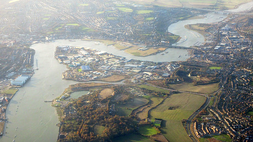 The Medway, Chatham, Rochester, Gillingham and Upnor