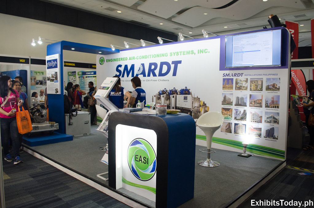 Energy Automation Systems Incorporated Exhibit Stand