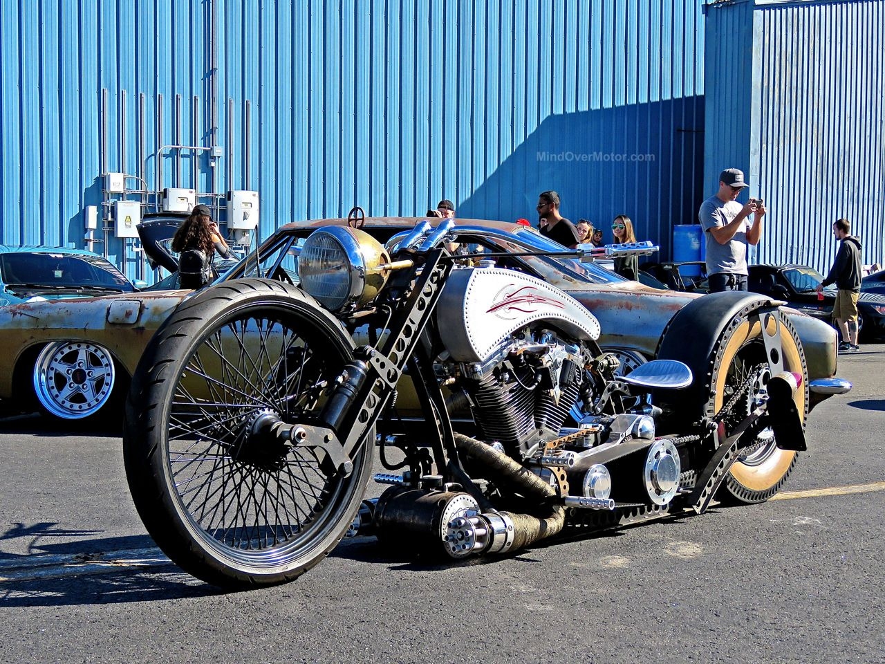 First Class Fitment Rat Rod Bike