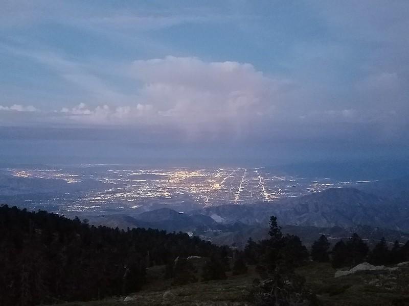San Bernardino Peak • Clouds over the Inland Empire