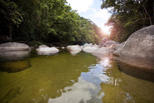 Mossman Gorge, Daintree rain forest, Tropical North Queensland