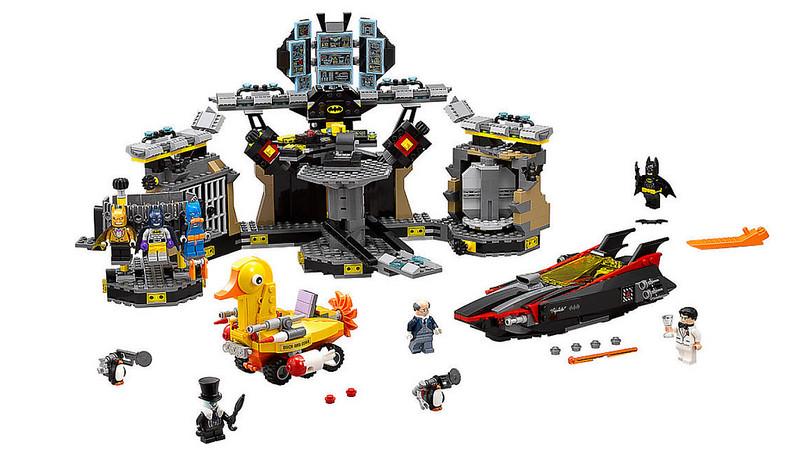 The LEGO Batman Movie - Batcave Break-In (70909)