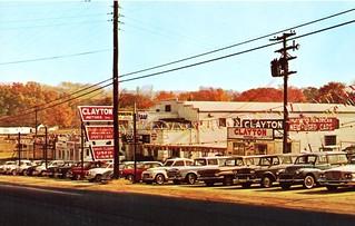 Clayton motors inc knoxville tn 1960s 4623 clinton for Highway motors inc chico ca