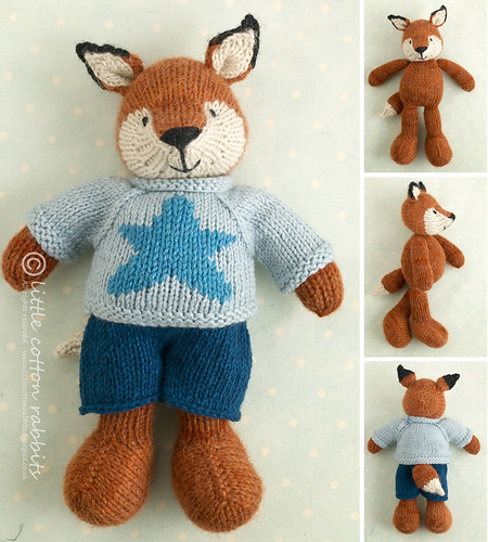 Knit Rabbit Sweater Pattern : Boy fox have just finished writing up new patterns
