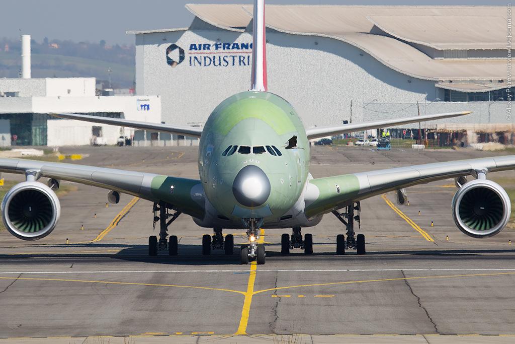 Самый большой Airbus