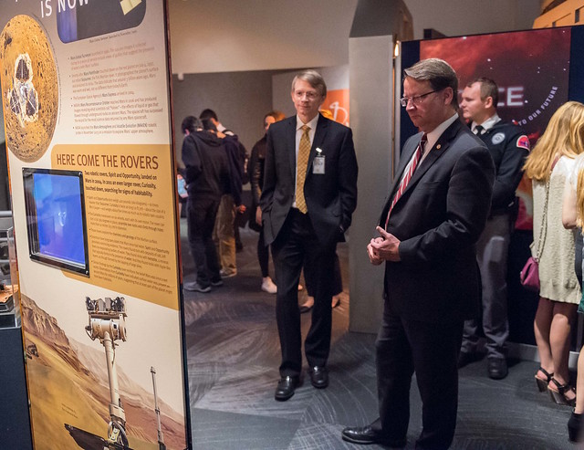 "U.S. Senator Gary Peters remarks at exhibit opening of ""Space: A Journey to Our Future"""