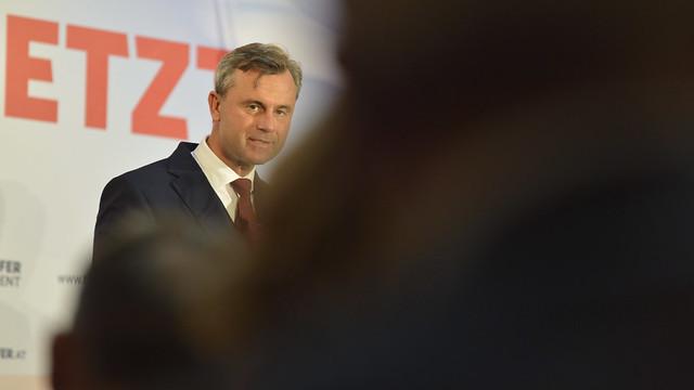 Wahlkampfabschluss von #bpw16 Kandidat Norbert Hofer #fpö